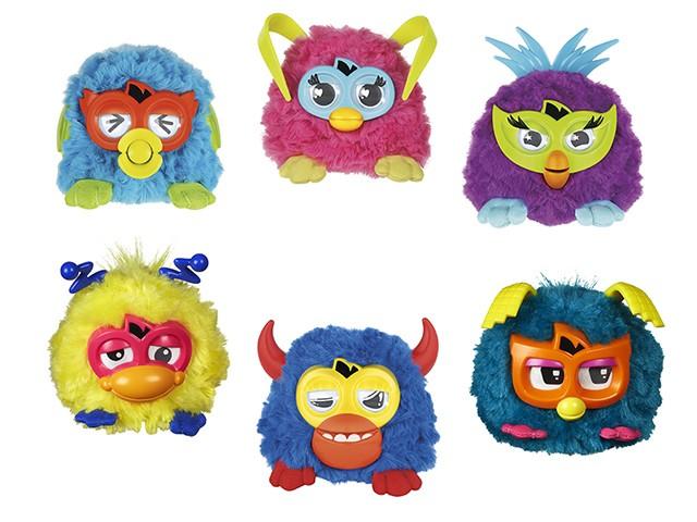 Игрушка мини Fur Furby Rockers