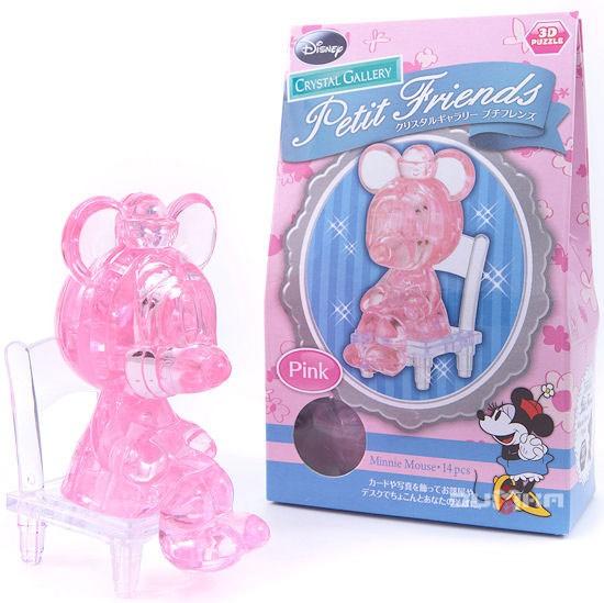 3D головоломка Минни Маус, розовый