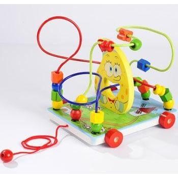 Детская игрушка лабиринт Каталка Спанч Боб