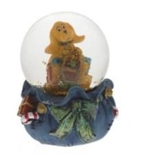 Декоративная фигурка в стеклянном шаре Собака