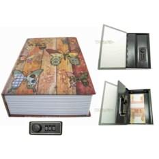 Книга-сейф с кодовым замком Butterfly