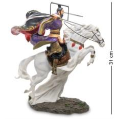 Статуэтка Китайский воин на коне , высота 31,5 см
