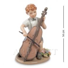 Фигурка Мальчик с виолончелью (Pavone)