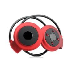 Красные беспроводные наушники Mini503 bluetooth с плеером