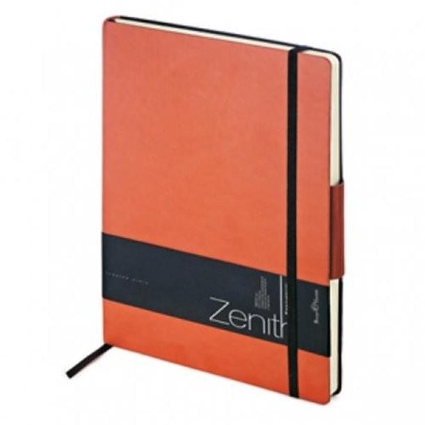 Оранжевый недатированный ежедневник Zenith В5