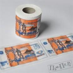 Туалетная бумага «5000 рублей»