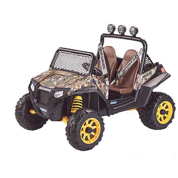 Детский электромобиль Peg-Perego Polaris Ranger RZR 900 Camouflage