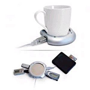 USB-хаб - нагреватель, чашка, ложка!