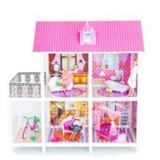 Двухэтажный кукольный дом