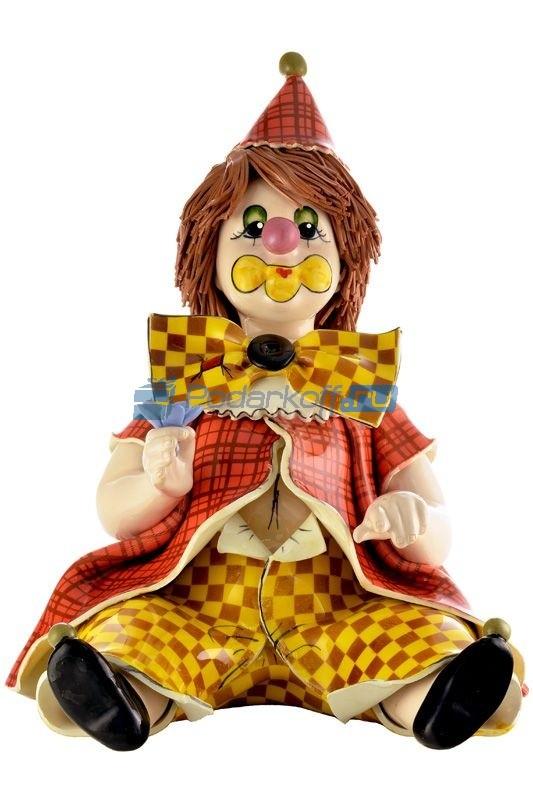 Статуэтка Клоун с цветком