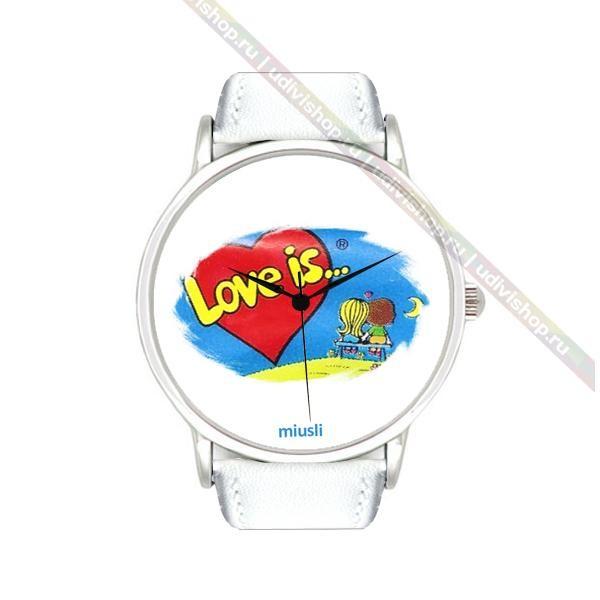 Наручные часы Miusli Love is, white