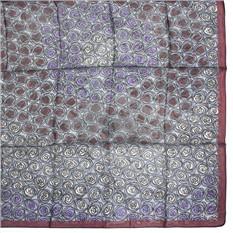 Красивый большой платок с цветами Ungaro
