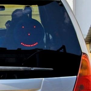 Коммуникатор автомобильный на 5 смайликов