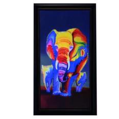 Картина с кристаллами Сваровски Слоны-1