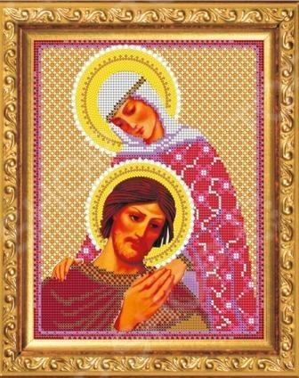 Набор для вышивания «Святые Благоверные Петр и Феврония»