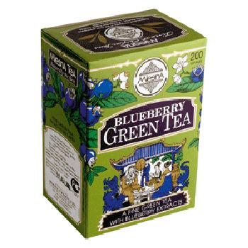 Чай зеленый с ароматом голубики