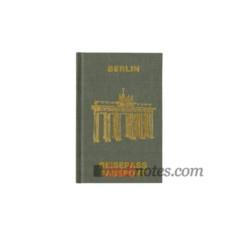 Запиная книжка для путешествий Passport Berlin от teNeues