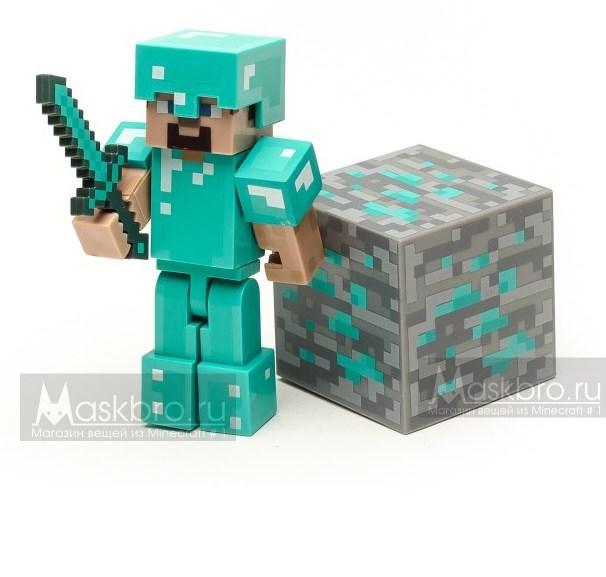 Набор Стив в алмазной броне
