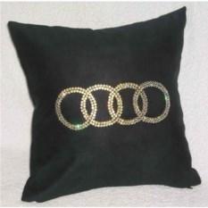 Подушка Audi со стразами Swarovski