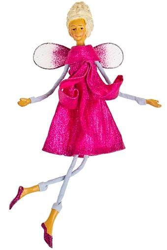 Украшение интерьер. Маленькая фея в розовом платье