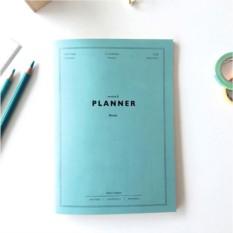 Планинг Anytime Planner, цвет мятный