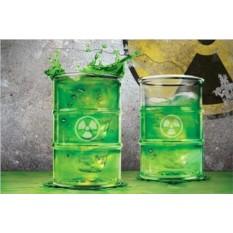 Набор стаканов Осторожно радиация!