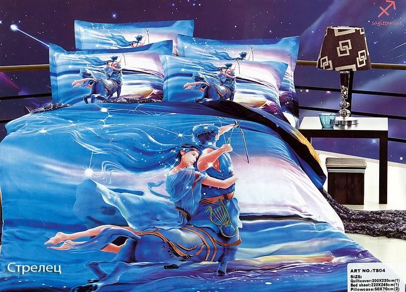 Комплект постельного белья Танго Голубой
