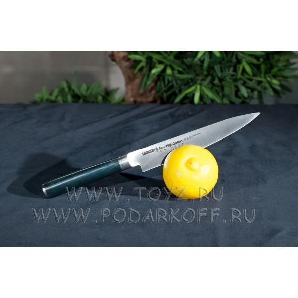 Нож кухонный поварской универсальный  Samura mo-v