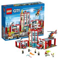 Конструктор Пожарная часть Lego City