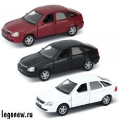 Модель машины Welly 1:34-39 Lada Priora