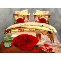 Постельное белье Романтика на море 3D
