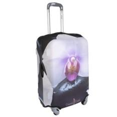 Большой чехол для чемодана Цветок
