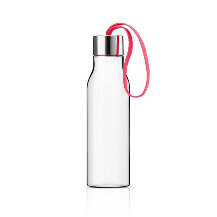 Розовая спортивная бутылка
