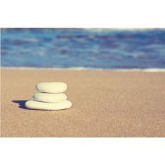 Набор для вышивки стразами «Белые камушки»
