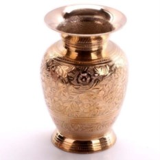 Латунная ваза Стиль