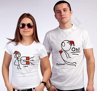 Парные футболки Магнит
