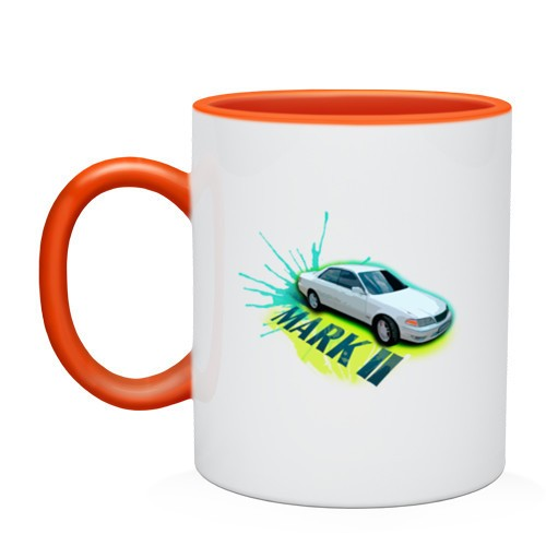 Двухцветная кружка Toyota mark 2