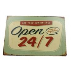 Табличка Open