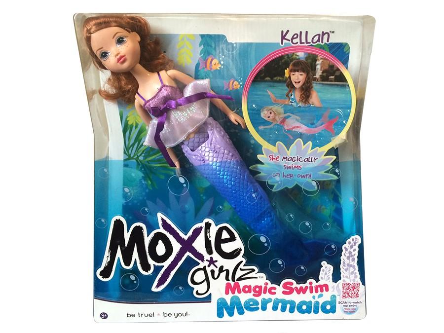 Кукла-русалка Келлан Moxie Girlz, фиолетовая