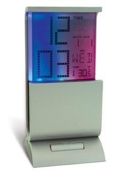 Часы с календарем и термометром