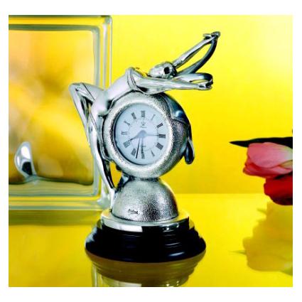 Часы «Балерина с вуалью»