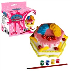 Копилка-раскраска «Тортик»