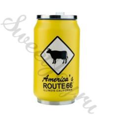 Термокружка Route 66 – Yellow 350 мл