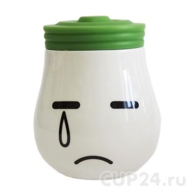 Кружка «Лампа» (зеленая)