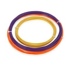 Оранжевый, золотой и пурпурный пластик для 3D ручек ABS-3