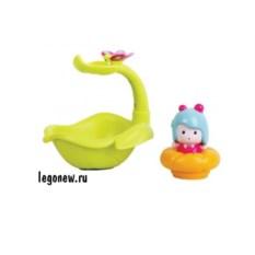 Интерактивная игрушка для ванной Мими. Листочек-фонтан