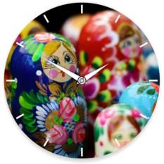Часы настенные Матрешки