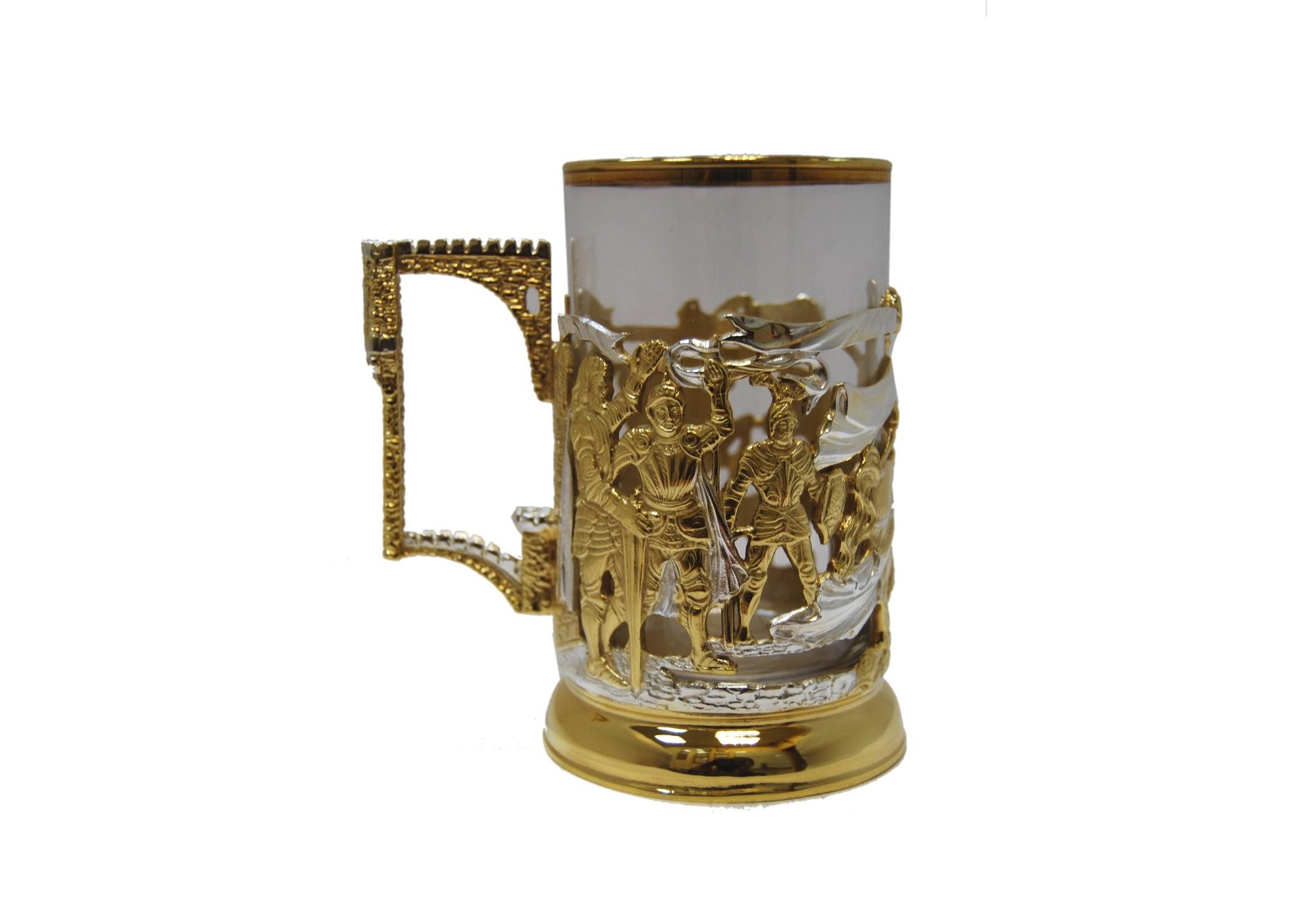 Подарочный подстаканник для чая Победители