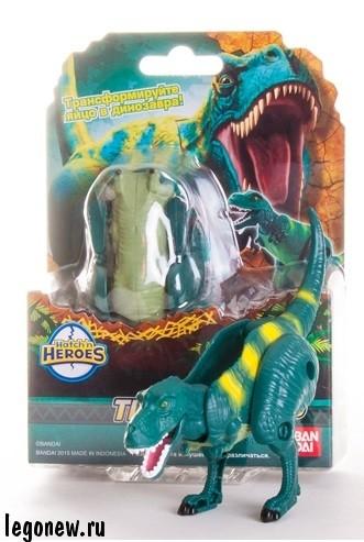Яйцо-трансформер Тиранозавр (EggStars)