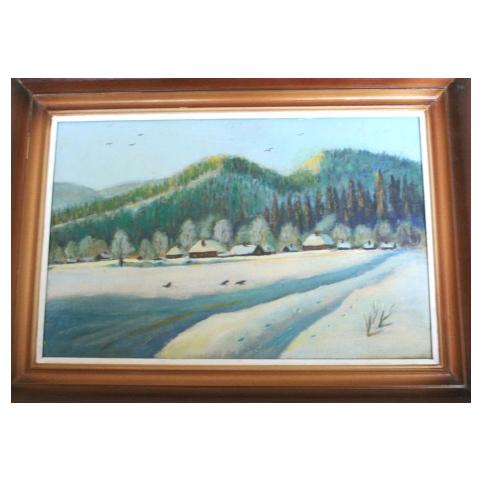 Картина «Жигули зимой»